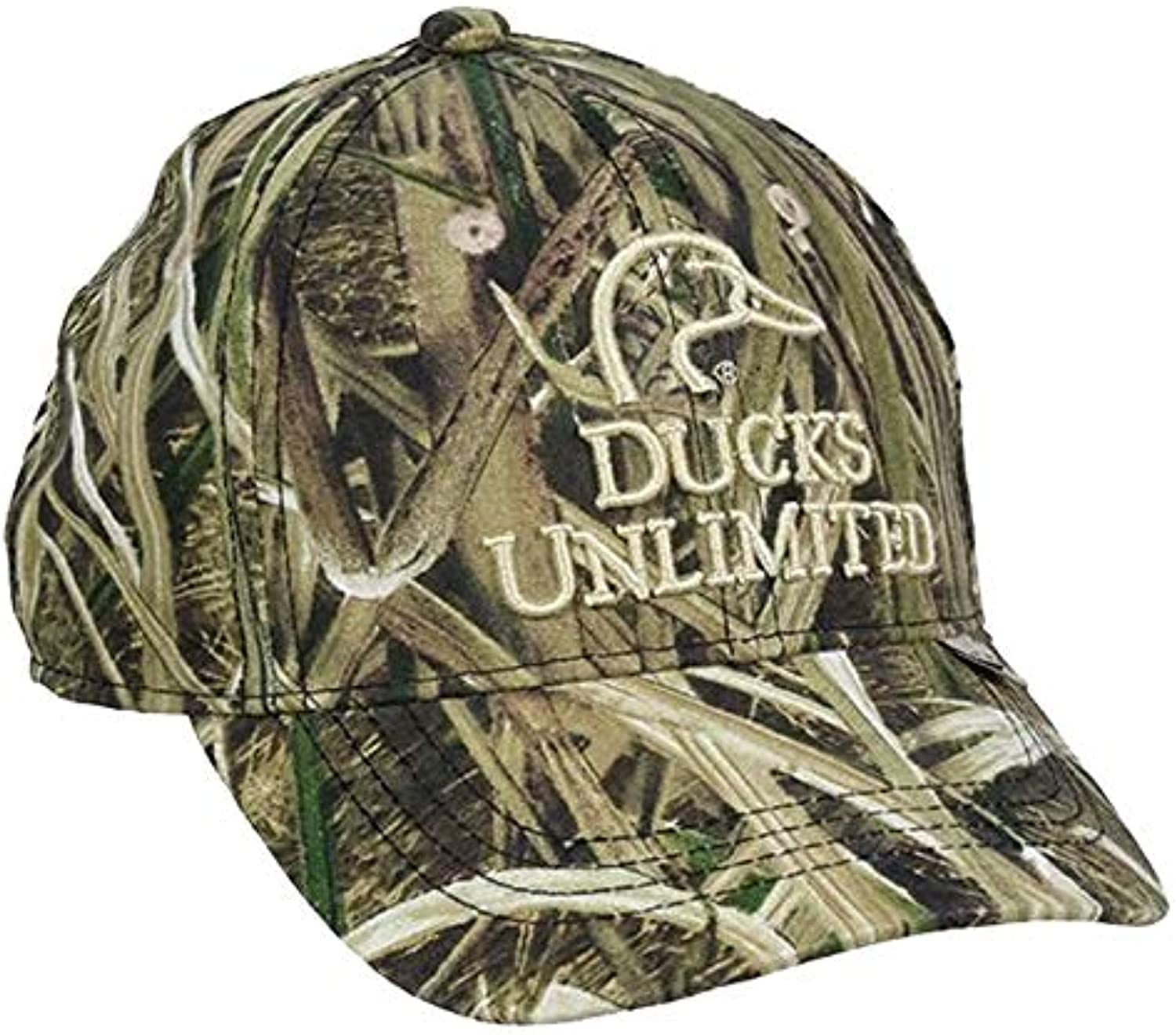 Outdoor Cap Ducks Unlimited Youth Shadow Grass Camo Hat