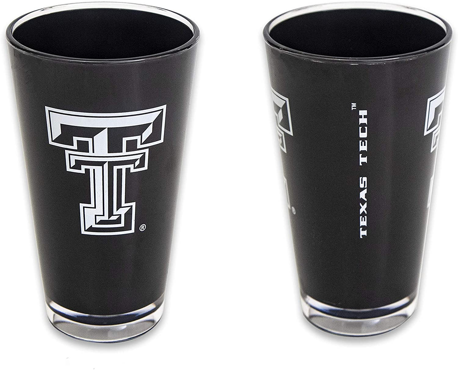NCAA Texas Tech Red Raiders 2-Pack Team Color Insulated Tumbler Glass Set