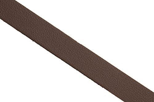 Genuine Leather Coated Faux Suede lace Cord Dark Brown 10mm 2yard/Pack (3packs Bundle), Save $2