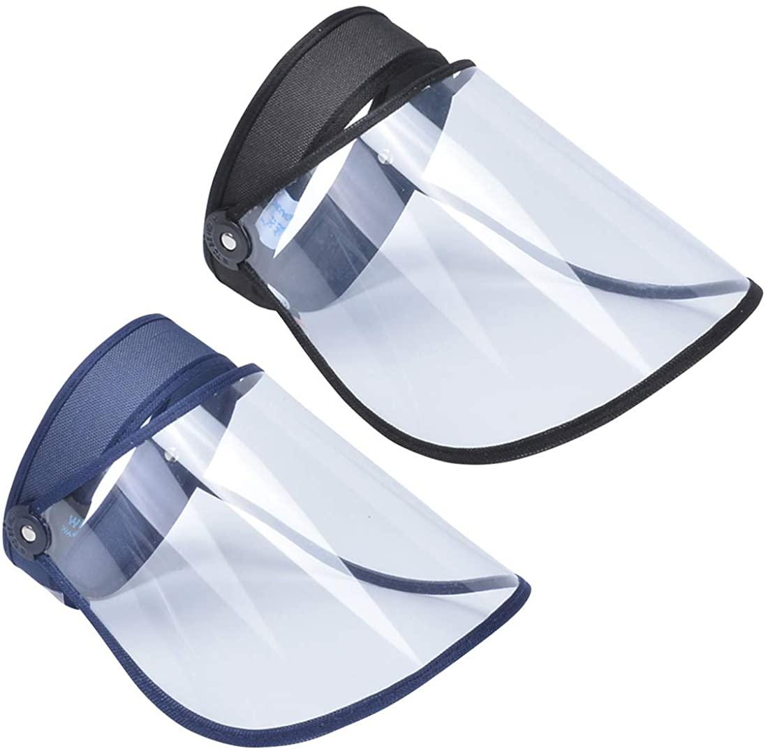 FEOYA Unisex Anti-UV Visor Hat UPF 50+ Solar Full Face Cover Headband Sun Protection Riding Cap