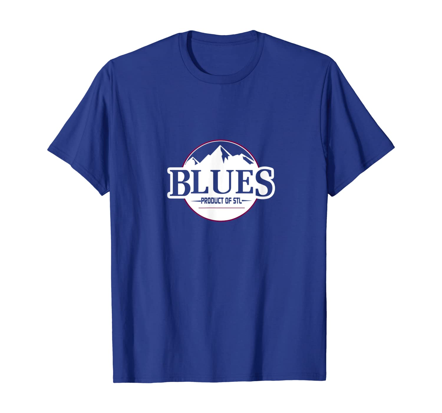Mountain Blues Tshirt Homegrown St Louis