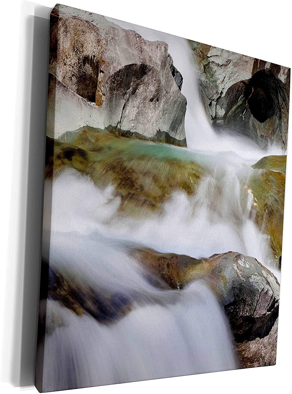 3dRose Danita Delimont - Rivers - River Isel, Hohe Tauern National Park, Austria - EU03 MZW0225 - Martin Zwick - Museum Grade Canvas Wrap (cw_135563_1)