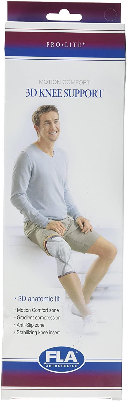 Prolite 3D Knee Support, Charcoal, Medium