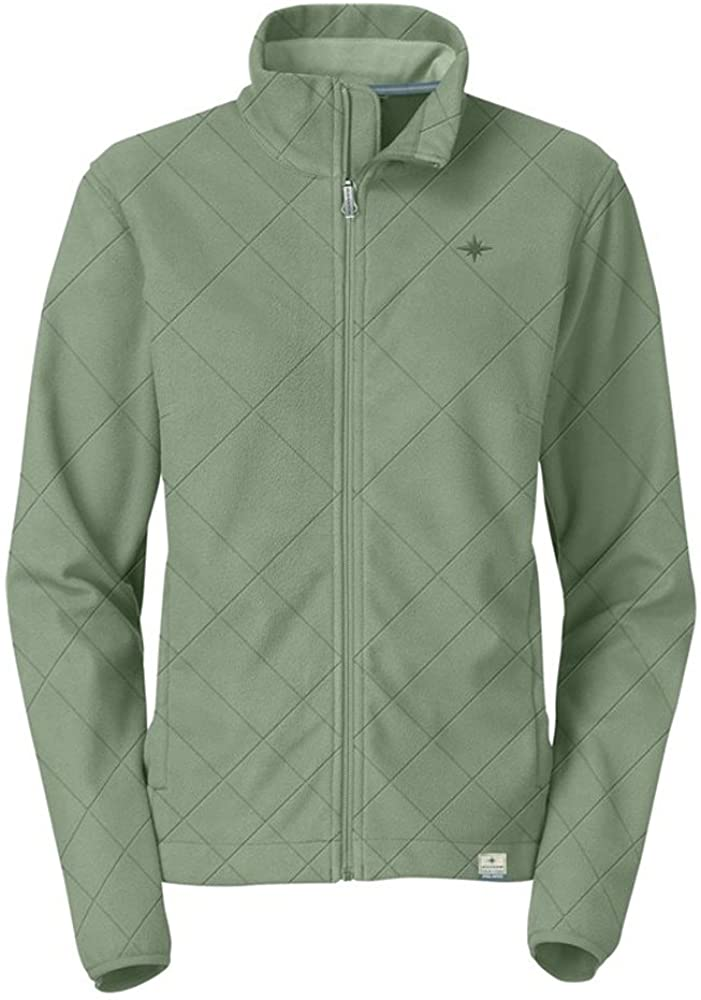 polaris Ranger Womens Sage Brush Green Quilted Fleece Jacket - Small