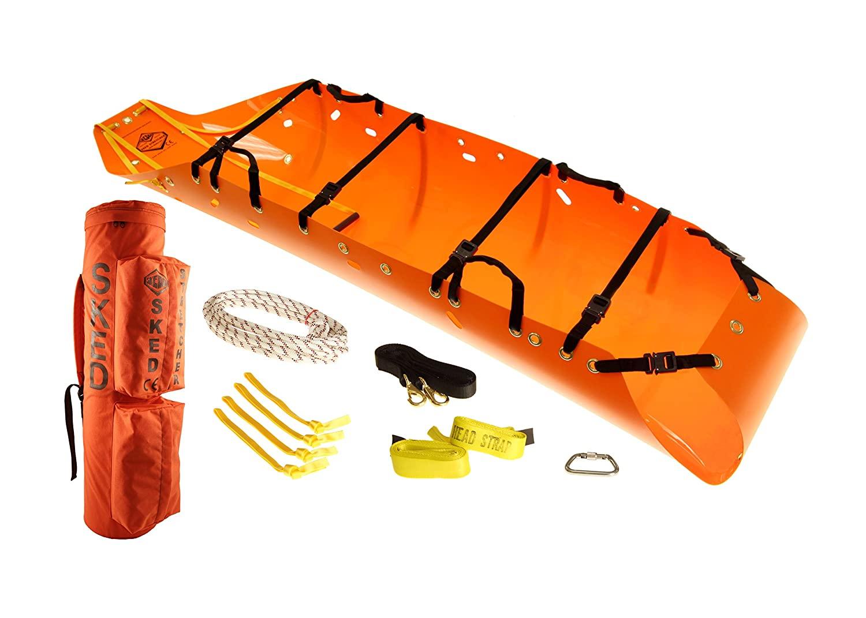 Skedco Basic Rescue System with Cobra Buckle Upgrade, International Orange