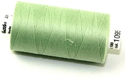 Mettler Seralon Polyester General Sewing Thread 1000m 1000m 1095 Spanish Moss - each