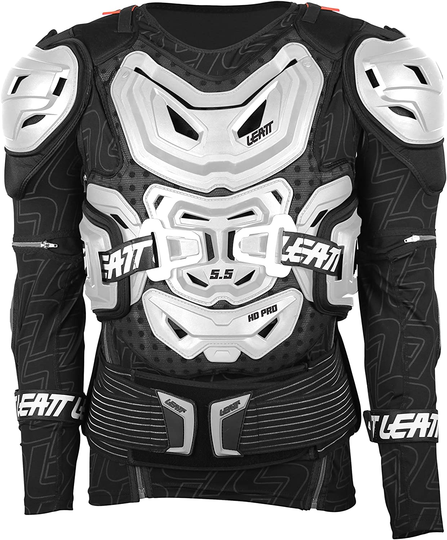 Leatt 5.5 Body Protector (White, Small/Medium)