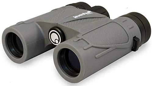 Levenhuk Karma Plus 10x25 Compact Waterproof Binoculars with BaK-4 Glass Optics