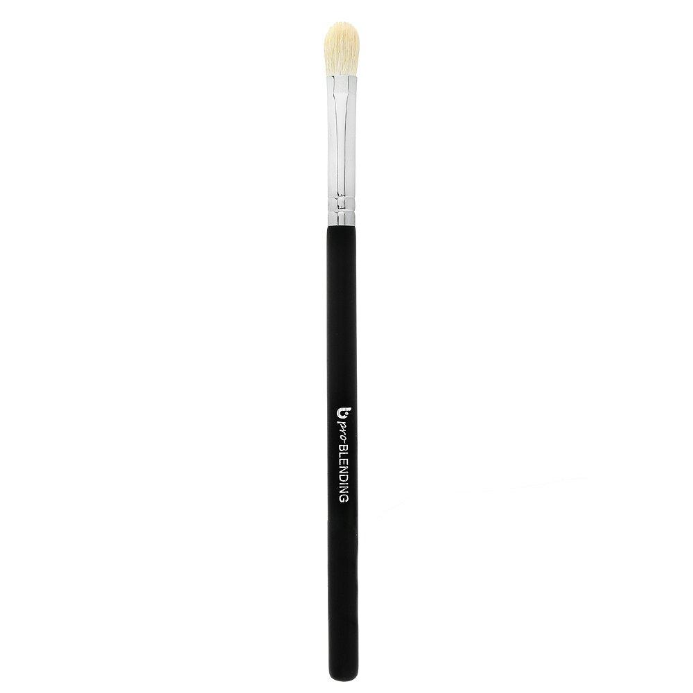 Tapered Blending Eyeshadow Makeup Brush – Beauty Junkees Professional Eye Shadow Blender Make Up Brush, Soft Firm Natural Hair Bristles for Precision Blending Buffing Harsh Lines; Premium Quality