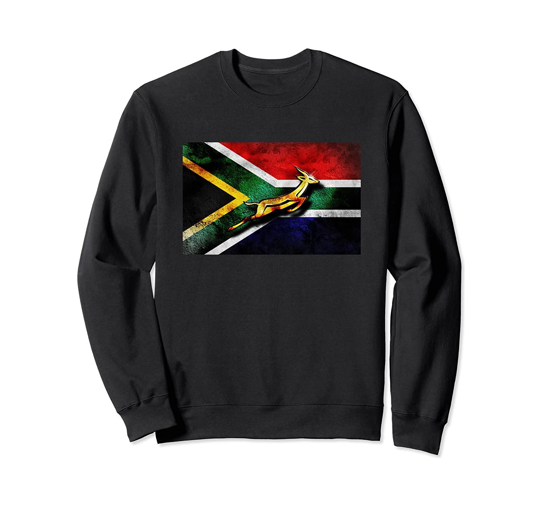 Springbok Bokke South African Flag Vintage Rugby Sweatshirt