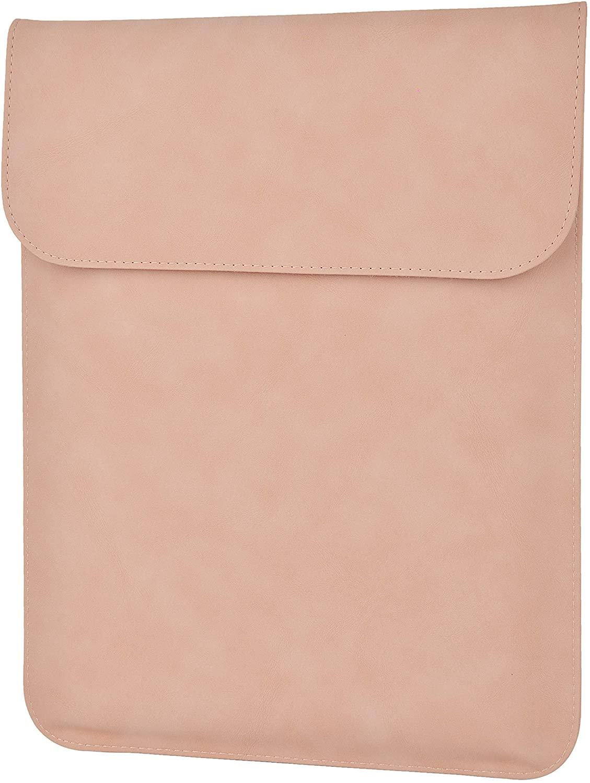 LuvCase Laptop Suede Leather Flap Envelope Sleeve Pouch Bag Compatible MacBook Air A1932/ Pro 13-13.3