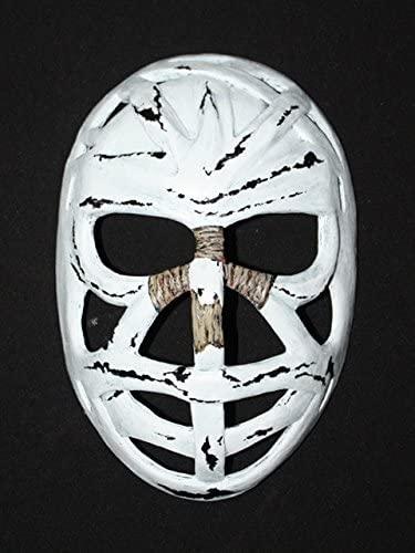 tripple_777 1:1 Custom Vintage Fiberglass Roller Ice Hockey Goalie Mask Helmet Montreal Ken Dryden HO22