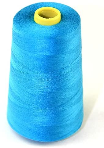 Budget 120s Polyester Sewing Thread Cone 4500m Turquoise - each