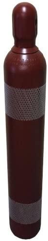 150 cf Cylinder for Argon Nitrogen Argon/CO2 Helium w/
