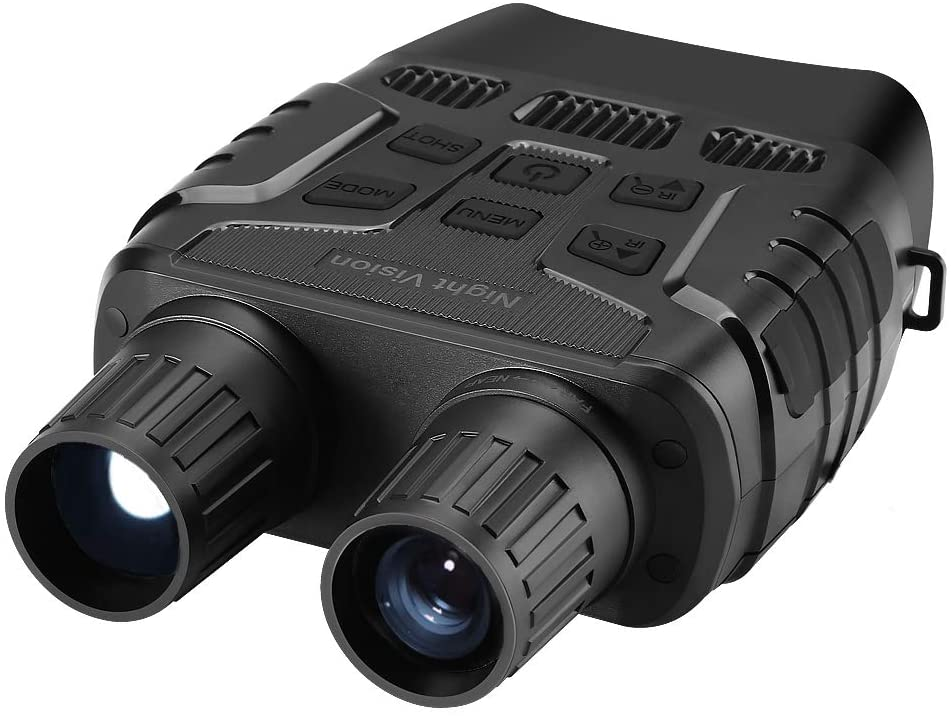 Night Vision Binoculars for Hunting with 2.3 inch TFT LCD HD Infrared IR Camera & Camcorder 980ft/300M Viewing Range Takes Photo 960P Video with 4X Digital Zoom
