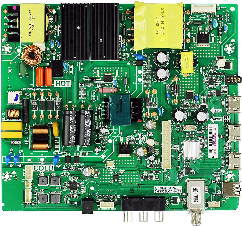 Toshiba 02-SW353A-C008005 Main Board for 55L510U18