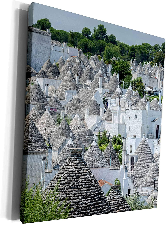 3dRose Danita Delimont - Cities - Trulli in Alberobello, Italy - Museum Grade Canvas Wrap (cw_277608_1)