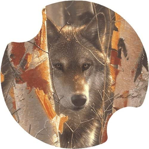 Birch Wolf Carsters - Coasters for Your Car