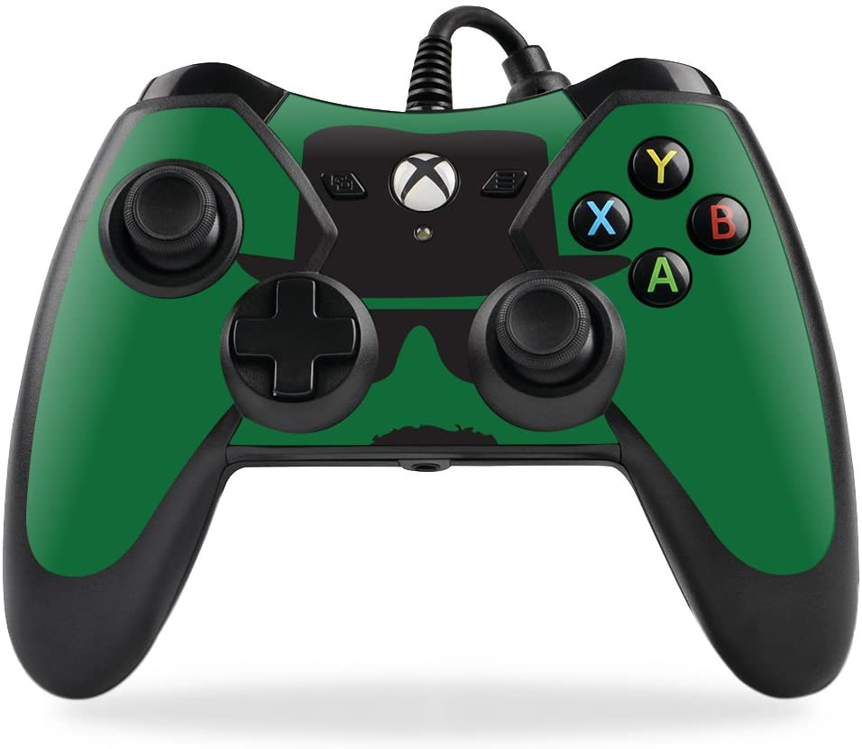 MightySkins Skin Compatible with PowerA Pro Ex Xbox One Controller case wrap Cover Sticker Skins Breaking Badass