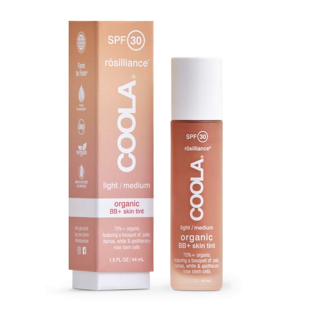 COOLA Rosilliance Mineral BB+ Cream Tinted Organic Sunscreen, Broad Spectrum SPF 30