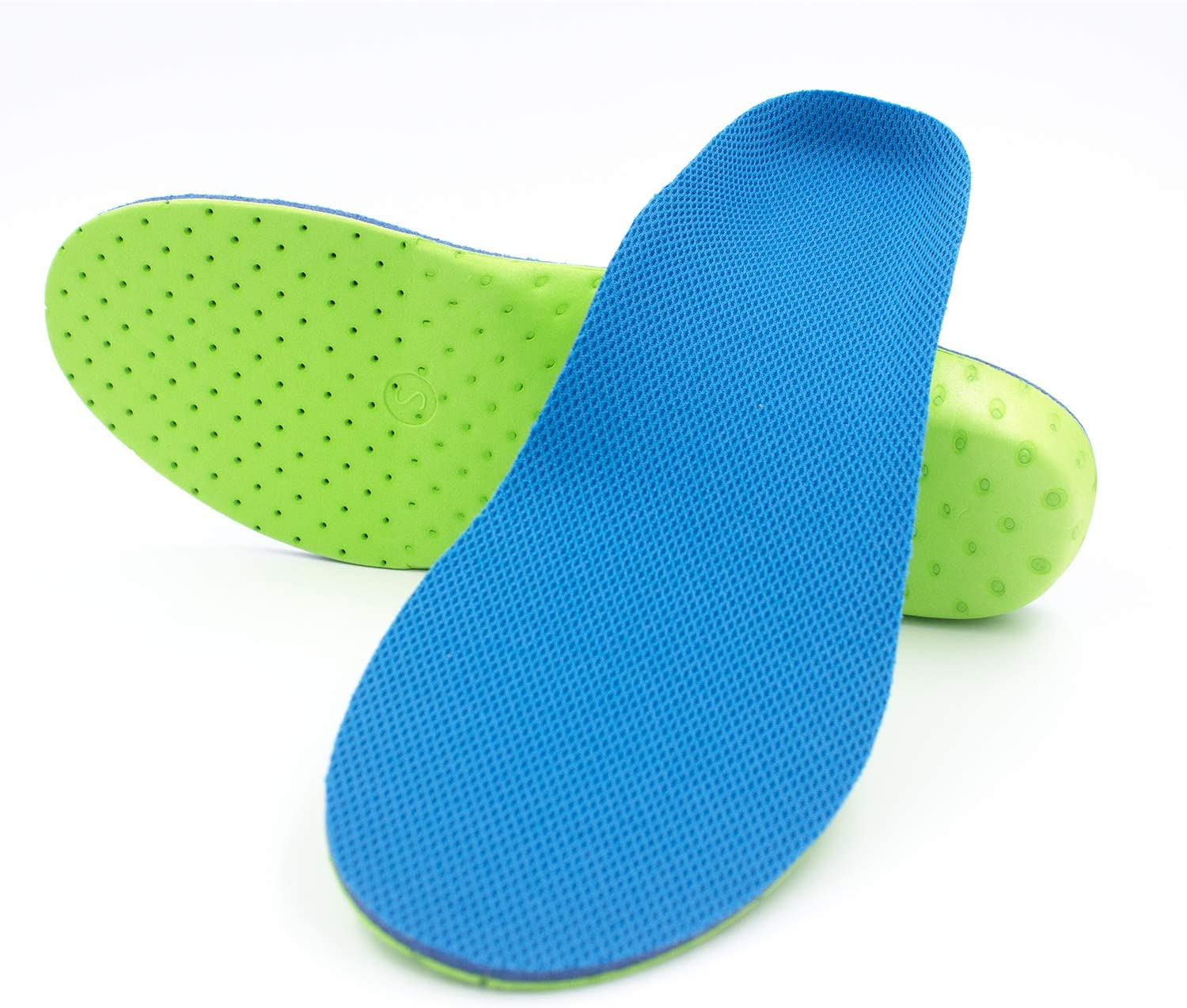 Sunoer Arch Support Shoe Insoles for Men & Women, Orthotic Inserts High-Arch Shock Absorption Insoles Cushioning for Plantar Fasciitis, Foot Pain, Running Sport (Men 12-14.5 / Women 14-16.5)