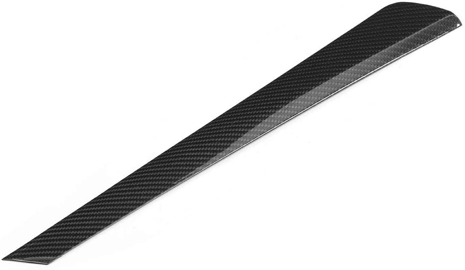 KIMISS Center Control Cover Trim,Car Interior Carbon Fiber Center Console Panel Cover Trim Strip Left Hand Driving Fit for G20 G28 2020