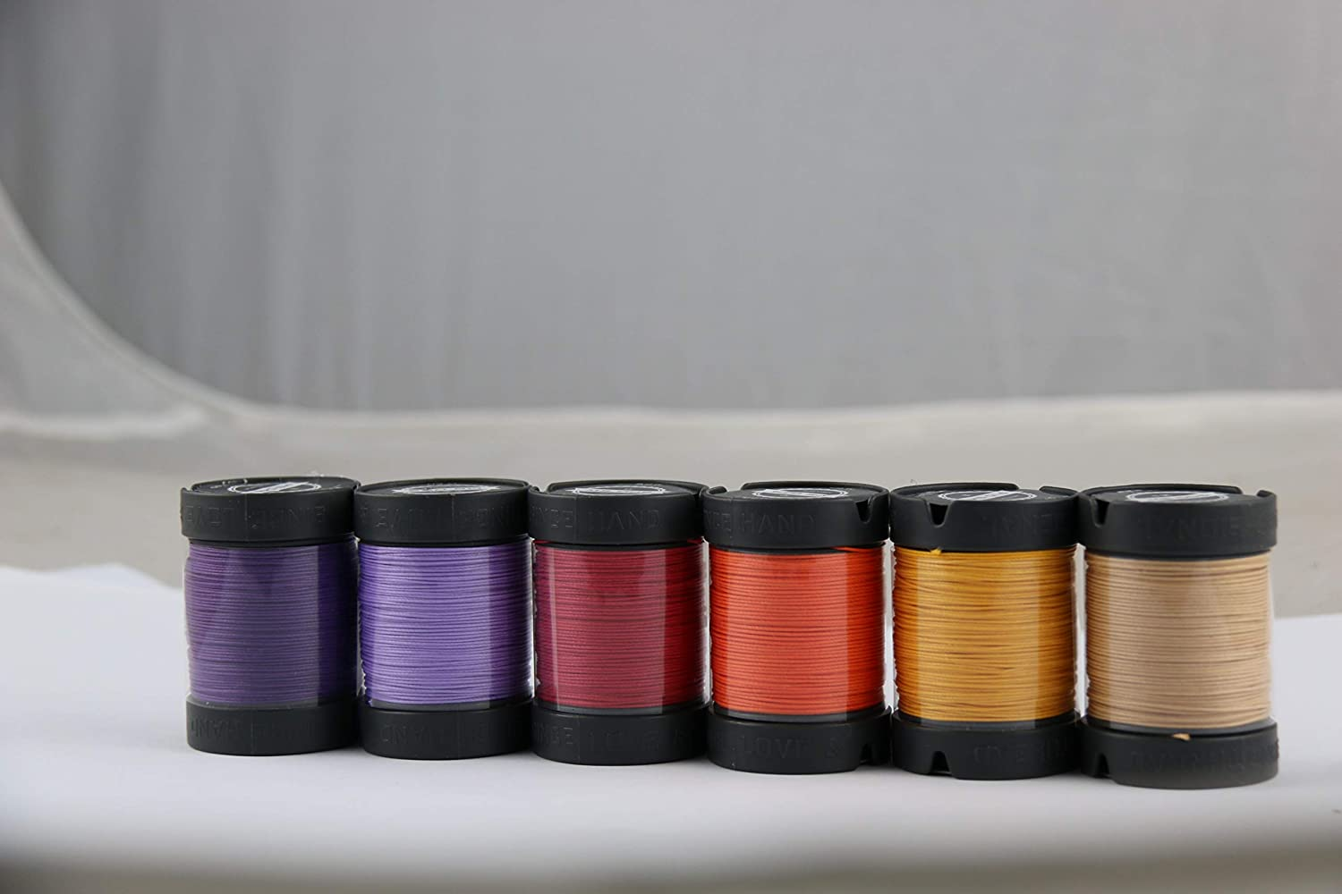 Since Leather 100% Linen Hand Sewing Thread 48 Colors Available DIY leathercraft (M30/0.35MM/150M/Spool) (M30/ Lavender)