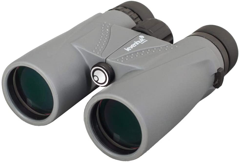 Levenhuk Karma Plus 10x42 Compact Waterproof Binoculars with BaK-4 Glass Optics