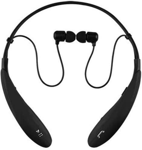 SuperSonic - Bluetooth Wireless Headphones with Mic, Bluetooth Earphones - Black (IQ-127BT)