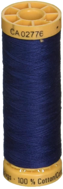 Gutermann Natural Cotton Thread 110 Yards-Bright Navy