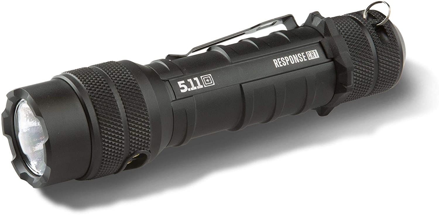 5.11 Response CR1 Rechargable Tactical Flashlight, Style 53400, Black