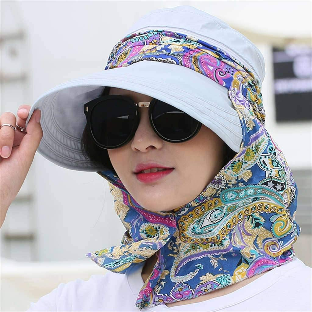 Nonebrand Visors Collapsible,Female Summer Shade Outdoor Cycling Dayan Anti-UV Sun Protection Hat