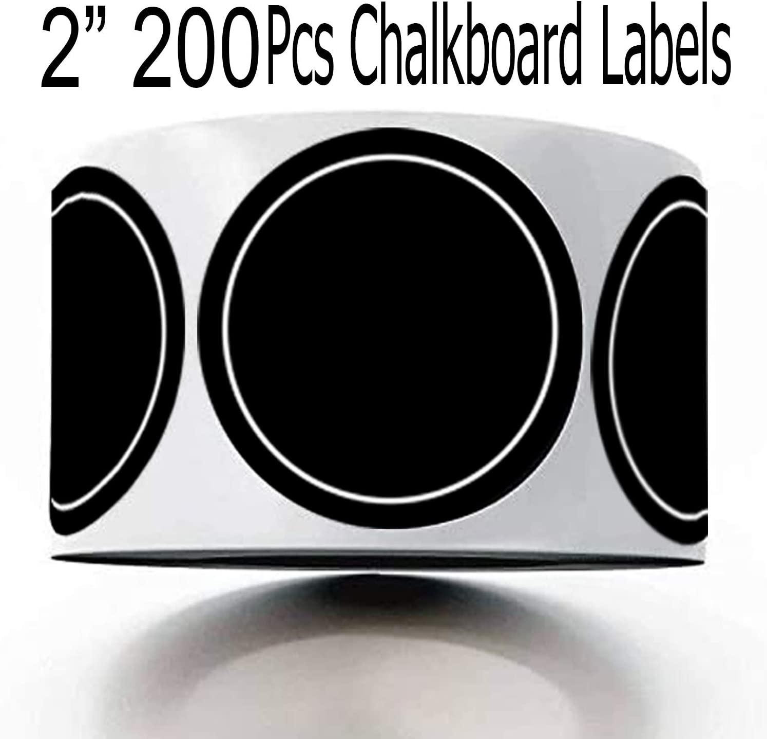 200 Blank Spice Jars Labels - 2