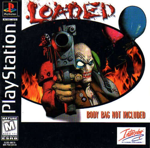 Loaded PS1 Instruction Booklet (Sony Playstation Manual ONLY - NO GAME) Pamphlet - NO GAME INCLUDED