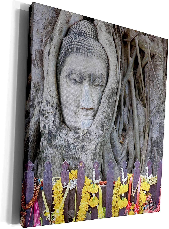 3dRose Danita Delimont - Temples - Sandstone Buddha, Temple of Auspicious Victory, Thailand-AS36 AJE0145 - Adam Jones - Museum Grade Canvas Wrap (cw_75499_1)