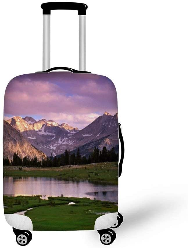 Nature Fashionable Baggage Suitcase Protector Travel Luggage Cover Anti-Scratch