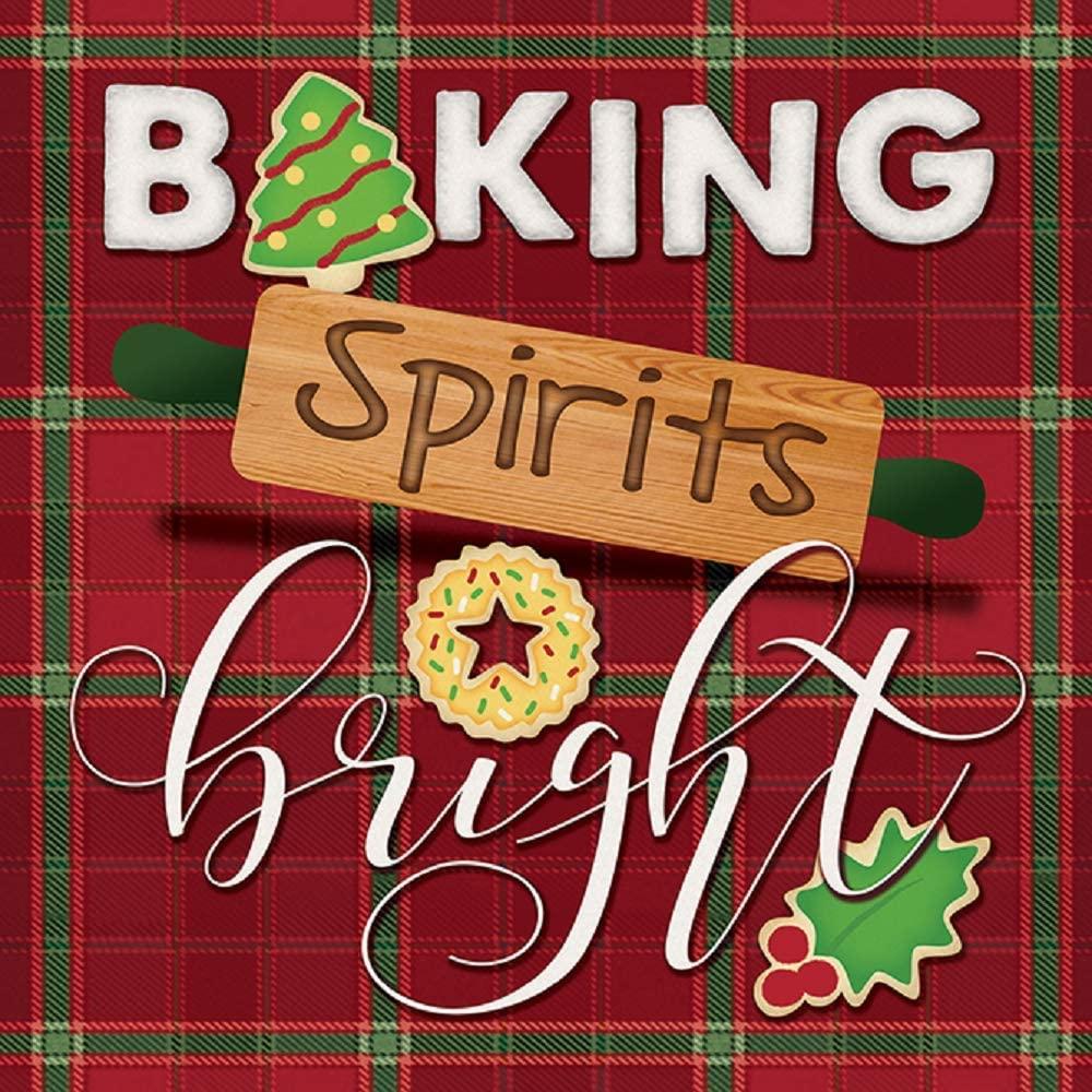 Carson 7 Inches Holiday Baking Spirits Trivet