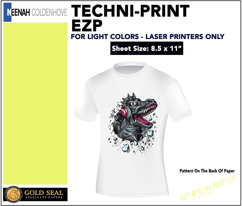 Techni Print EZP - Laser Heat Transfer Paper 8.5