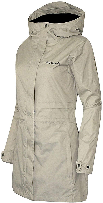 Columbia Womens Shine Struck II Waterproof RAIN Mid Hooded Jacket 2017