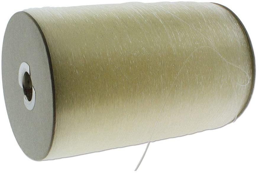 Elastoma Elastic String, 0.5mm Thick with 2.6 Pound Tinsel Strength, 5073 Yard Bulk Spool