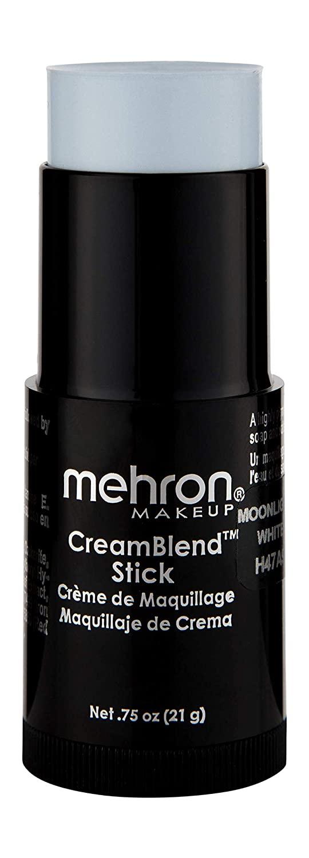 Mehron Makeup CreamBlend Stick (.75 oz) (MOONLIGHT WHITE)
