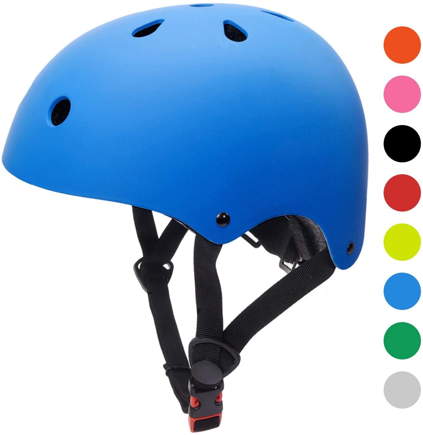 Glaf Adult Cycling Bike Helmet Men Women Skateboard Helmet CPSC Certified Adjustable Lightweight Helmet
