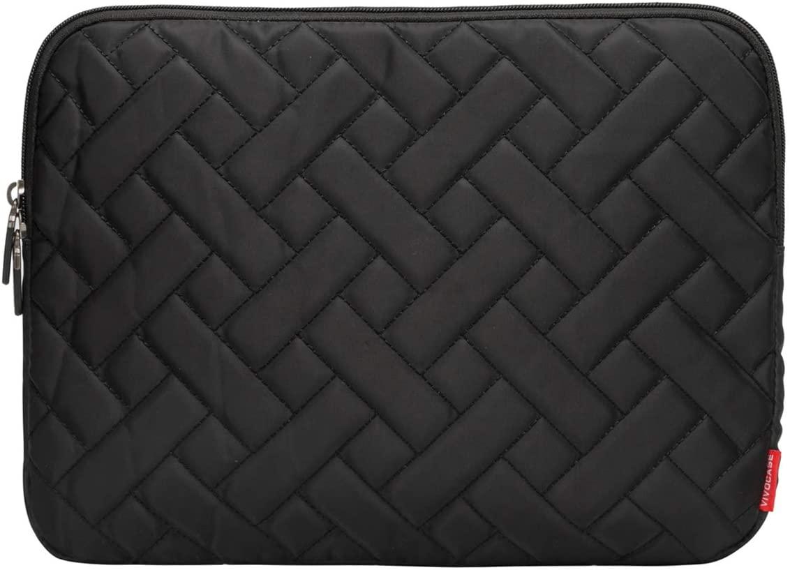 Laptop Sleeve Case 13.3 Inch Laptop Cover Bag for MacBook Pro,MacBook Air,Utrabook (13.3 Inch, Cross Black)
