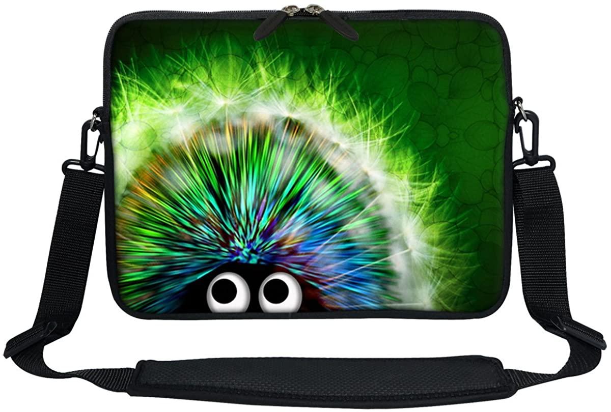 Meffort Inc 13 13.3 Inch Neoprene Laptop Bag Carrying Sleeve with Hidden Handle