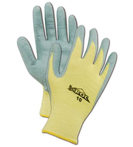 Magid Glove & Safety KEV4319-11 Magid K-ROC KEV4319 Para-Aramid Foam Nitrile Gloves - Cut Level 2, 6, Gray , 11 (Pack of 12)