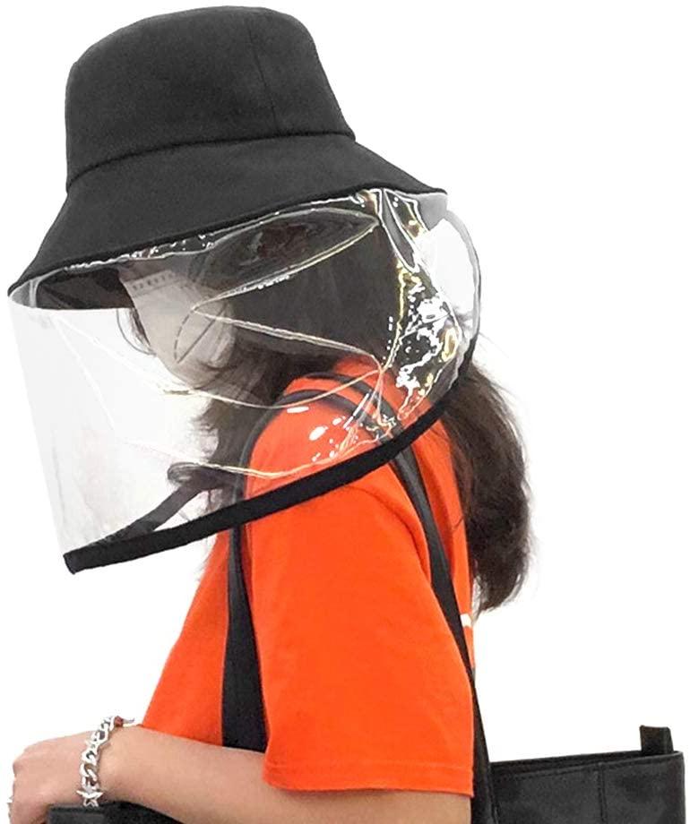 Fashin Design Anti UV Hat Cap Breathable and Skin-friendly (Black)