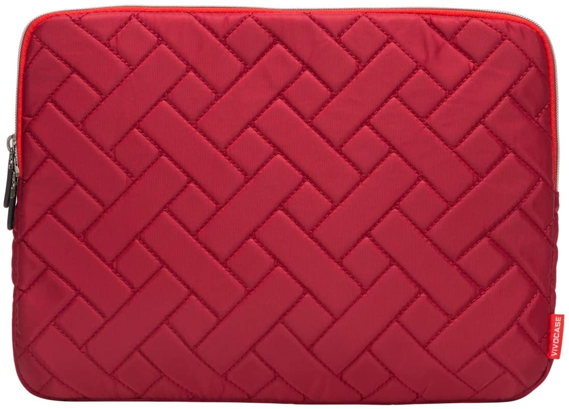Laptop Sleeve Case 13.3 Inch Laptop Cover Bag for MacBook Pro,MacBook Air,Utrabook (13.3 Inch, Cross Red)