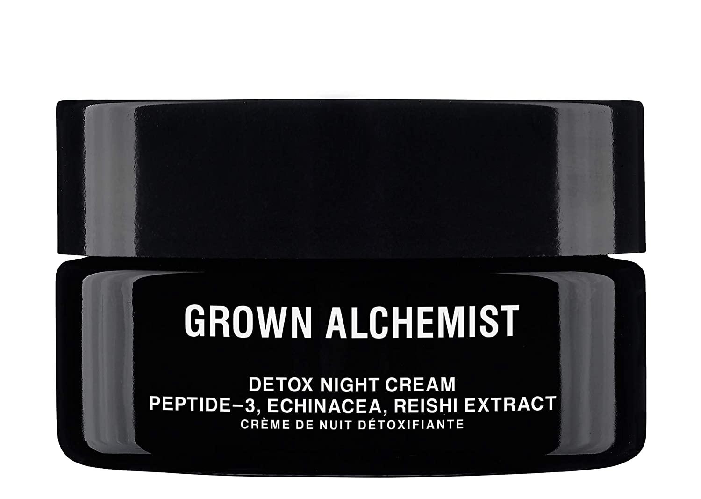 Grown Alchemist Detox Night Cream - Peptide-3 & Reishi Extract - Overnight Face Cream, Anti Aging Moisturizer (40ml / 1.35oz)