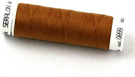 Mettler Seralon Polyester General Sewing Thread 100m 100m 899 Bronze - each
