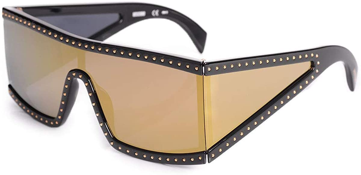 Sunglasses Moschino 004 /S 02M2 Black Gold/Sq Multilayer